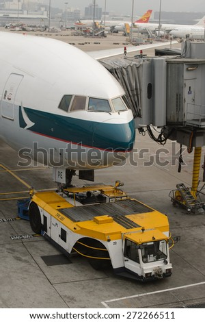Loading platform air freight aircraft stock photo 72743287 shutterstock - Cathay pacific head office ...