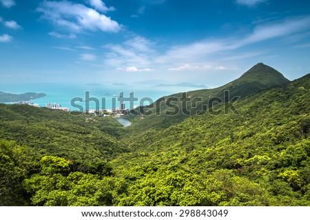 Hong Kong Nature landscape - stock photo