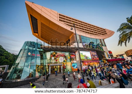 Hong Kong Nov Perching Stock Photo Shutterstock - Metres above sea level