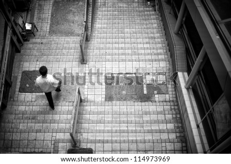 Hongkong Streets - stock photo