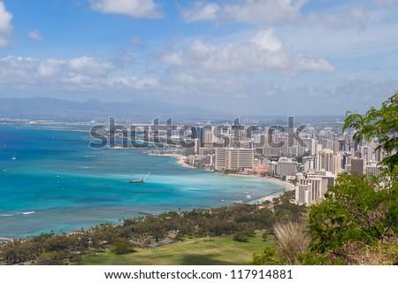 Honolulu - stock photo