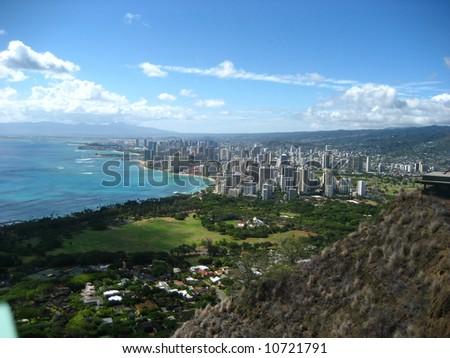 Honolulu, Hawaii - stock photo