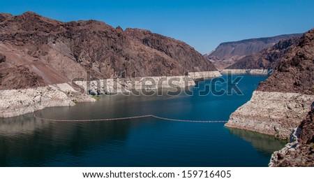 Hoover Dam / Shot in Nevada in 2011. - stock photo