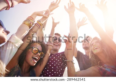 Hope this party never stops - stock photo