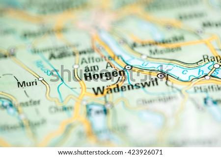 Horgen Switzerland Stock Photo 423926071 Shutterstock