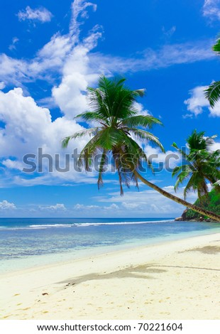 Horizon Seascape Clouds - stock photo