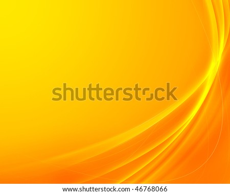 horizontal beautiful yellow and orange abstract background