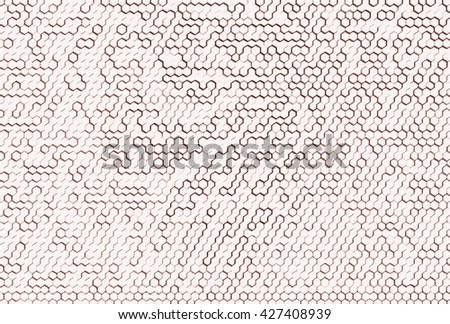 Horizontal brown cells illustration background