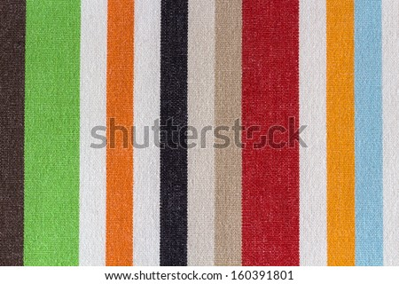Horizontal colored texture/ fabric / tissue