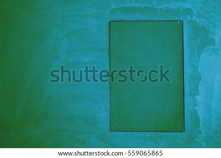 horizontal photo of closed door on wall with selected tone color