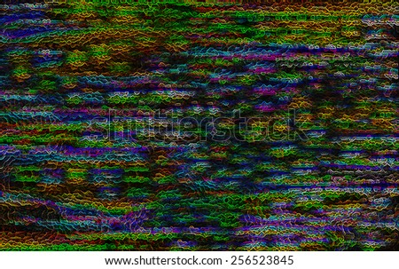 Horizontal vivid color acid digital business futuristic abstraction background backdrop - stock photo