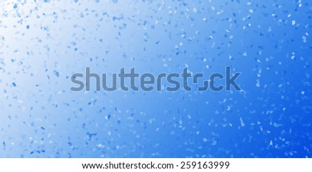 Horizontal white crystals business presentation abstract background backdrop