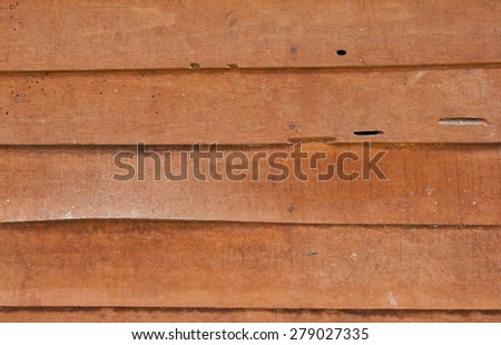 Horizontal wooden planks wall texture wallpaper pattern