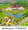 Horkumluang in Chiang Mai Province Thailand - stock photo
