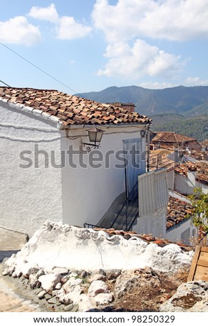 Hornos de Segura,white village in Segura and Cazorla sierra,Jaen,Spain