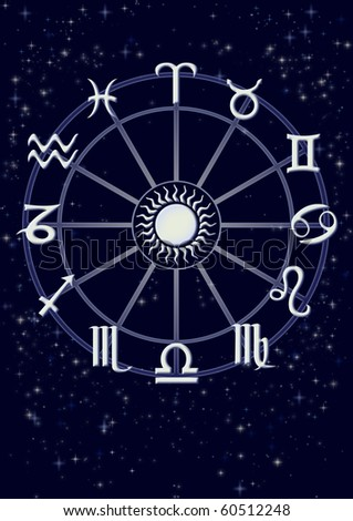 Horoscope - stock photo