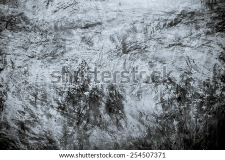 Horror grunge concrete background - stock photo