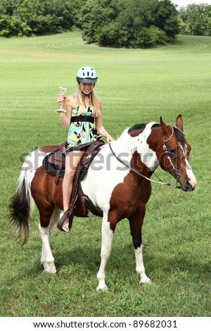 Horse Award - stock photo