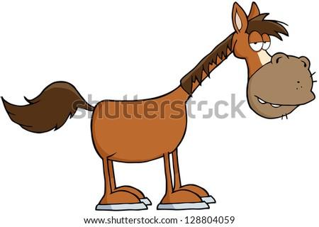 Pony breeds: Haflinger stock illustration. Illustration of ...