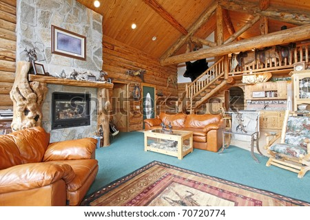 Rustic Cabin Interior Stock Images, Royalty-Free Images & Vectors