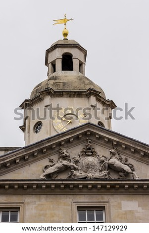 Horse Guards building at London, England
