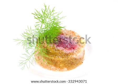 horse meat - stock photo