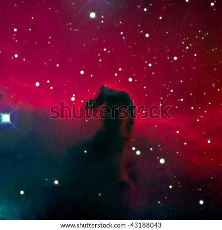HorseHead Nebula IC434 - stock photo
