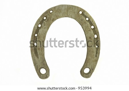 Horseshoe, isolated