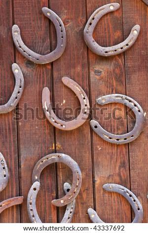 Horseshoes - stock photo