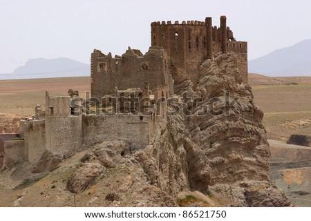Hosap Kalesi (Castle) - stock photo