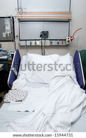 Hospital Bed - stock photo