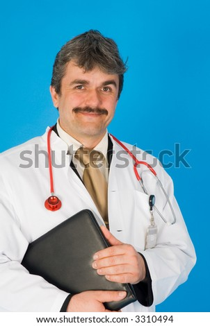 hospital doctor - stock photo