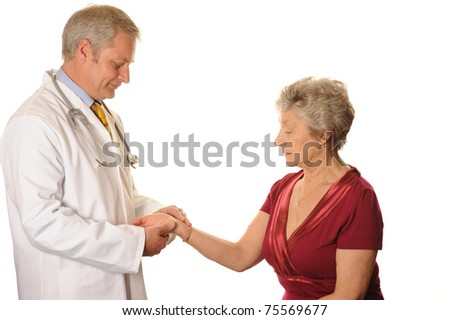 Hospital Doctor with Patient
