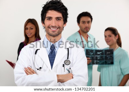 Hospital staff - stock photo
