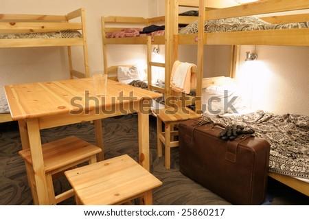 Hostel. - stock photo