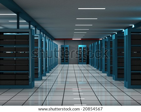 Hosts room 3 - stock photo