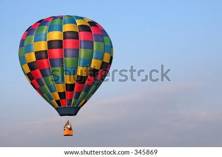 Hot Air Balloon - stock photo