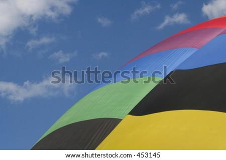 Hot-air Balloon - stock photo