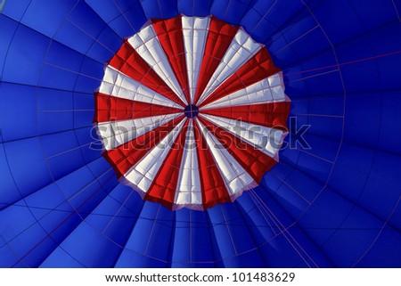 Hot Air Balloon Canopy Vent - stock photo
