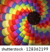 Hot Air Balloon Interior 1 - stock photo