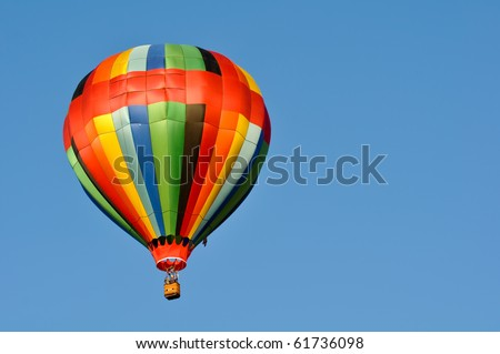 Hot Air Balloon Race in Reno Nevada - stock photo