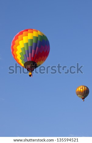 Hot Air Balloons at the Great Reno Balloon Races