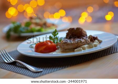 hot appetizer - stock photo
