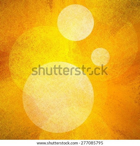 hot background image, vibrant glowing yellow and orange explosion of color with white bokeh lights in foreground with fine detailed line texture, artsy classy bright abstract background - stock photo