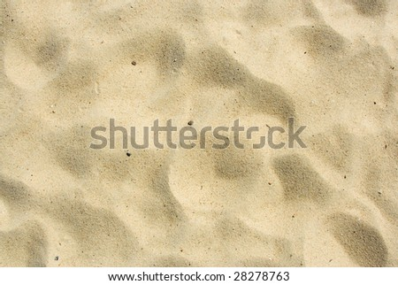 hot beige dirty sand texture - stock photo