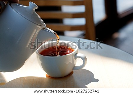 Overflowing Cup Stock Images Royalty Free Images