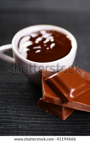 Hot chocolate - stock photo