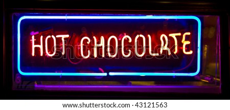 Hot Chocolate Neon Sign