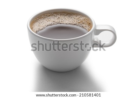 Hot Coffee Cup - stock photo