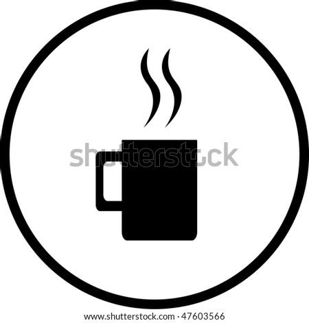 Hot Beverage Symbol Stock Vector 3460394 Shutterstock
